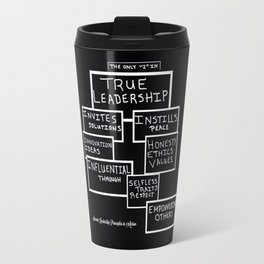 Motivating Others on True Leadership Travel Mug