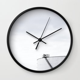 La contamination 3 Wall Clock