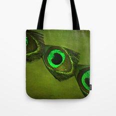 Neon Eyes Tote Bag