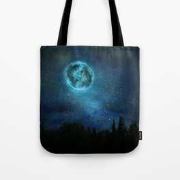Planetary Soul Haven Night Tote Bag