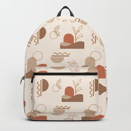 Desert Dunes Pattern Backpack