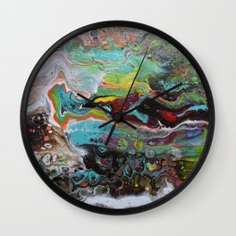 flowing you Wall Clock