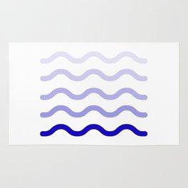 wave blue colors #society6 #decor #buyart #artprint Rug