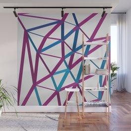 3D Futuristic GEO Lines Wall Mural