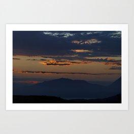 Cretan Dawn Art Print