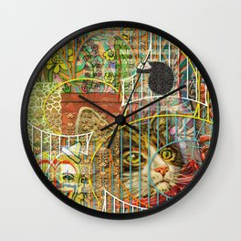 Prioritizing the Preservation of Favoured Struggles: Our Mesmerizing Bucket of Worms (1) Wall Clock
