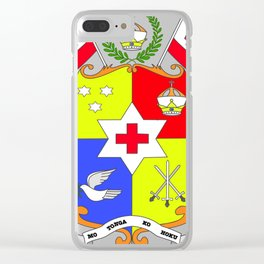 TONGAN SEAL Clear iPhone Case