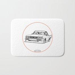 Crazy Car Art 0209 Bath Mat