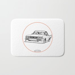 Crazy Car Art 0209 Bath Mat