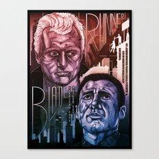 Blade Runner 30th anniversary Canvas Print