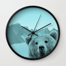 Bear With Me Wall Clock