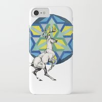 stag iPhone & iPod Cases featuring STAG by The Traveling Catburys