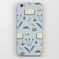 literature iPhone & iPod Skins featuring Classic Literature by Meghan Hill