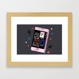 No Boys Allowed Framed Art Print