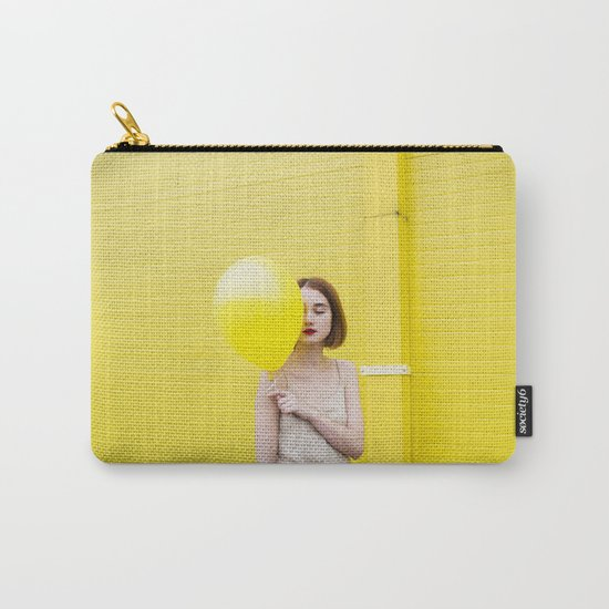 Girl balloon Carry-All Pouch