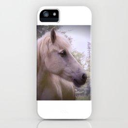 Dreaming Icelandichorse iPhone Case