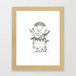 Charlize Brown Framed Art Print