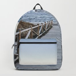 """Walking to the beach....."" At sunset Backpack"