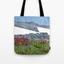 Mountain Summer Tote Bag