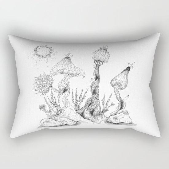 imaginaryWood Rectangular Pillow