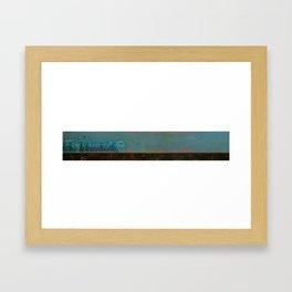Recycled Framed Art Print