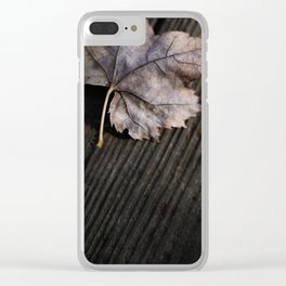 the lifelines of fall 2 Clear iPhone Case