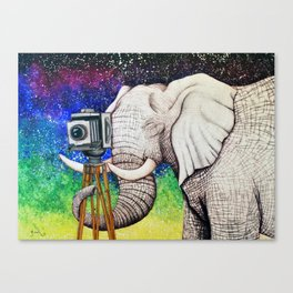 Elephant II Canvas Print