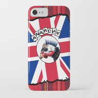 anarchy iPhone & iPod Cases featuring Anarchy by oconnart