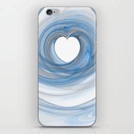 Valentine's Fractal VI - Light iPhone Skin