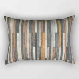 Wood Paneling Rectangular Pillow