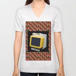 COMPUTER Unisex V-Neck