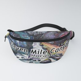 Eleven MiIe Canyon with text Fanny Pack