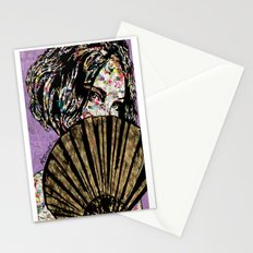 Playing Coy Stationery Cards