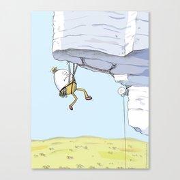 Humpty Dumpty Climbs Again Canvas Print