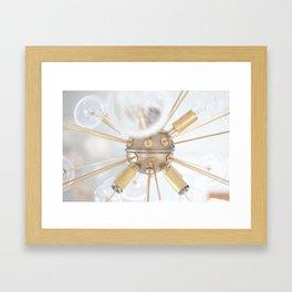 """Sputnik Light Photo"" by Simple Stylings Framed Art Print"