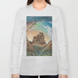 Colorado National Monument Polyscape Long Sleeve T-shirt