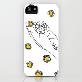 Miss Daisies iPhone Case