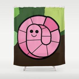 Cutesy Crawlies — Earthworm Shower Curtain