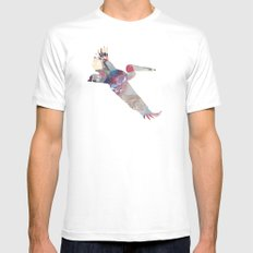 Pelican zeppelin Mens Fitted Tee White MEDIUM