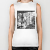 lincoln Biker Tanks featuring Lincoln Center by Emily Werboff