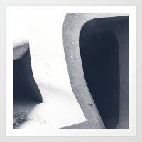 Inversions_06 Art Print