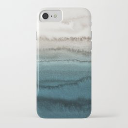 WITHIN THE TIDES - CRASHING WAVES TEAL iPhone Case