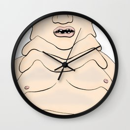 Self Indulgence Wall Clock