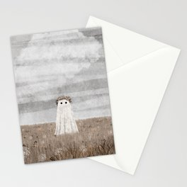 there's a Ghost in the Meadow Autumn Stationery Cards