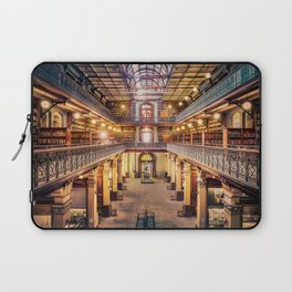 Let's Retire To The Library Laptop Sleeve