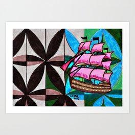 Ship #1 Art Print