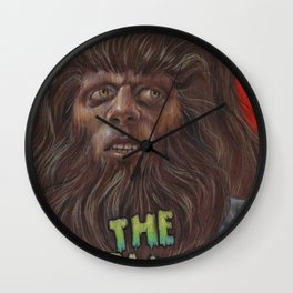 The Teen Wolf Wall Clock