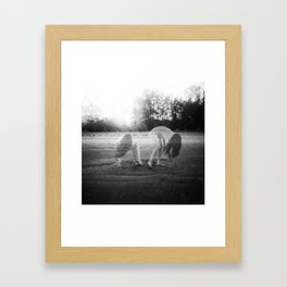 Holga Double Exposure - Jacs Fishburne Framed Art Print
