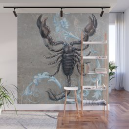 The black scorpion Wall Mural