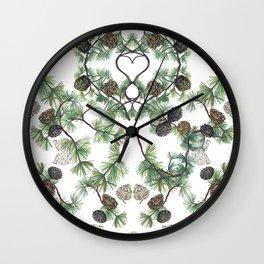 Let Love Grow Wall Clock